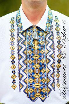 Gallery.ru / Фото #80 - Мои работы My embroidery - maila86 Folk Embroidery, Embroidery Fashion, Embroidery Dress, Cross Stitch Embroidery, African Men Fashion, Mens Fashion, Afghan Clothes, Ethno Style, Kurta Designs