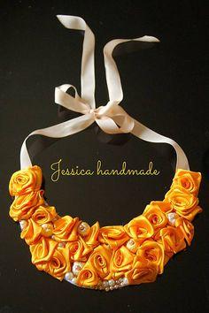 Jessicahandmade / Ru�i�kov� n�hrdeln�k
