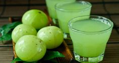 Amla is the most important fruit for our Health.It is a best medicinal herb widely using in Ayurveda. Amla is called as Indian gooseberry in English. The Scientific name of amla Phyllanthus Embli Detox Drinks, Healthy Drinks, Healthy Recipes, Amla Recipes, Healthy Juices, Top Recipes, Healthy Smoothies, Weight Loss Drinks, Weight Loss Smoothies