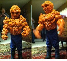 Fantastic four thing costume marvel by Ogrelord1