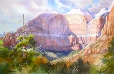 thomas moran paintings | Getting Ready for Thomas Moran Plein Air Competition at Zion
