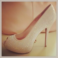 How much do you love these sparkly heels by J.Lo for Kohl's?
