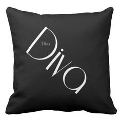 Diva throw pillow - #chic gifts diy elegant gift ideas personalize