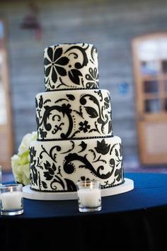 Modern Real Glam Weddings, Modern Weddings, Damask