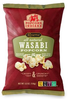 Popcorn, Indiana - i would love to design food packaging!