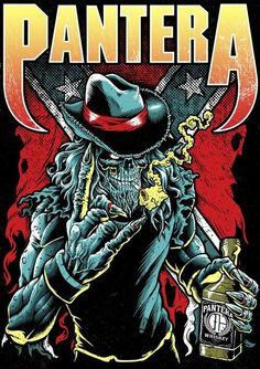 Pantera!! A bunch of Bad Asses!! PURE FUCKING METAL!! we will fucking miss you DIME BAG!!