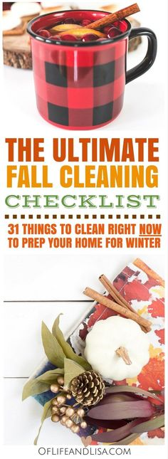 Home cleaning tips for the fall!