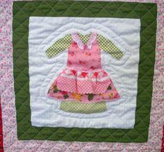 doll dress quilt