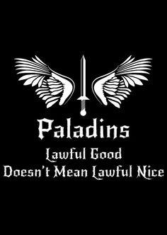 DnD Inspired Paladin T-shirt