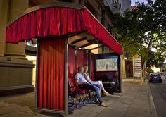 Big Pond Adelaide Film Festival: Cinema Bus Shelter
