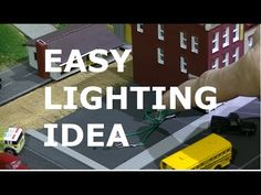 WIRING LIGHTS WITH COPPER FOIL TAPE FOR MODEL RAILROAD - YouTube