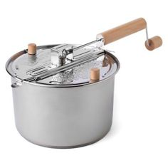 Wabash Valley Farms Stainless Steel 6-Quart Whirley Pop Stovetop Popcorn Popper - BedBathandBeyond.com