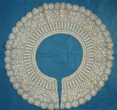 antique Maltese lace bertha collar