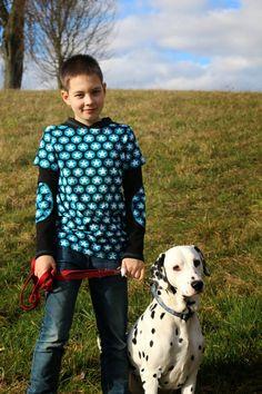 .Little Dreams Come True.: XATER, pattern by farbenmix.de, sewing for boys, Nähen für Jungs