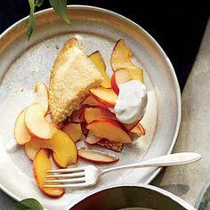 Peachy Almond Shortcakes | CookingLight.com