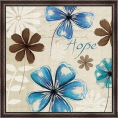 Field of Hope I Framed Painting Print