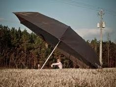 An optimist sees the size of the rainfall, a pessimist sees the size of his umbrella.