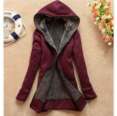 Fabric: Cotton Color: wine red One size ( standard size ) Length 70 Sleeve 56 Bust 96 Shoulder 41