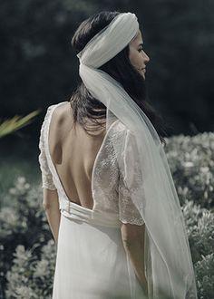 Laure de Sagazan | Robes de mariée | Collection Deux mille dix-sept