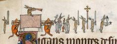 Rabbits in the funeral procession. Gorleston Psalter, England 14th century (British Library, Add 49622, fol. 133r). Discarding images.