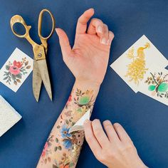 A tattoo can be a huge commitment, so why not test out some temporary designs yourself?