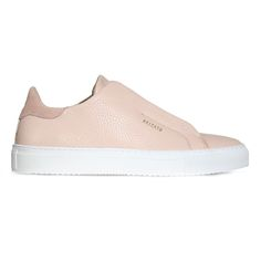 Axel Arigato Clean 90 Laceless in pale pink leather for spring   axelarigato.com