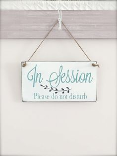 Business Sign, In Session Sign by InMind4U