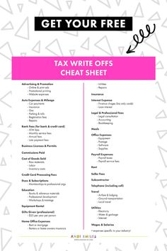 Organizing your small business finances doesn't have to be hard! The Biz Finance Survival Kit includes eight cheat sheets, checklists,… Small Business Bookkeeping, Small Business Accounting, Writing A Business Plan, Small Business Marketing, Business Planning, Business Tips, Financial Planning, Finance Business, Starting A Business