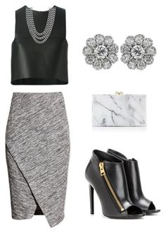 """""""Untitled #27"""" by marce-castaneda on Polyvore featuring Fendi, H&M, Tom Ford, Charlotte Olympia and Henri Bendel"""
