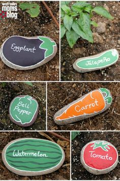 The Best Diy Garden Ideas And Amazing Projects The Best Diy Garden Ideas And Amazing Projects The Backyard Is Certainly One Of The Most Useful And Versatile Parts Of Your Home The Possibilities Are Endless Diy River Rock Garden Markers Easy Garden, Diy Garden Decor, Garden Decorations, Garden Art, Herbs Garden, Flowers Garden, Garden Cottage, Indoor Garden, Flower Pots