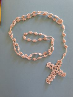 Crocheted Rosary Pattern Free Little House In The