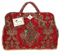 Ah, a Victorian Carpet Bag. I dream of having one and will some day and this site is fabulous!