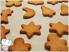 Christmas Art, Christmas Projects, Christmas Cookies, Xmas, Greek Sweets, Food Presentation, Biscotti, Cake Pops, Gingerbread Cookies