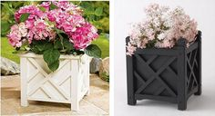 Centsational Girl » Blog Archive » Buy or DIY: Outdoor Square Planters