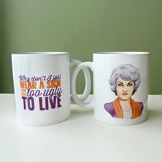Dorothy Mug | 23 Golden Girls Gifts To Say Thank You For Being A Friend