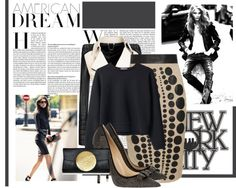 """""""Leather Girl"""" by valentinajoanna on Polyvore"""