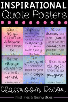 Inspiring Quotes Posters - Inspirational Quotes Posters - Progress Mindset Posters - The Effective Pictures We Offer You About Montessori Education free p Inspirational Quotes For Students, Quotes For Kids, Motivational Quotes, Inspirational Posters, Growth Mindset Posters, Classroom Quotes, Classroom Decor, Teacher Signs, Affirmation Cards