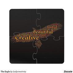 The Eagle Puzzle Coaster