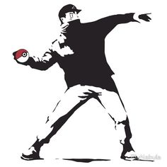 Ash the Anarchist.  #Pokemon #Pikachu #Pokeball #Ash #Banksy