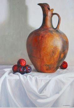 bodegon-con-olla-y-frutas-oleo-sobre-lienzo