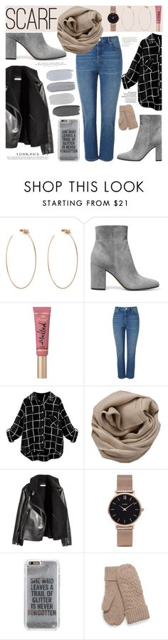 """""""Untitled #305"""" by gina-cremont ❤ liked on Polyvore featuring Diane Kordas, Gianvito Rossi, Too Faced Cosmetics, Miss Selfridge, H&M, Brunello Cucinelli, CLUSE and Agent 18"""