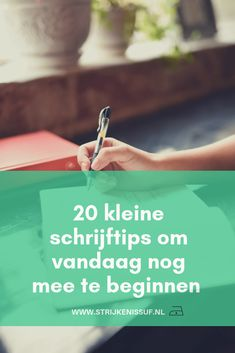 20x kleine schrijftips om vandaag nog mee te beginnen! | Strijken Is Suf Business Entrepreneur, Business Tips, Startup Branding, Copywriter, Work Inspiration, Blog Tips, Quizzes, Storytelling, Coaching
