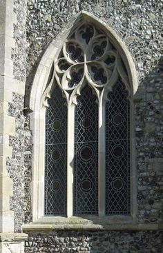107 Awesome Gothic Architecture Inspirations That You Must Know - Fancytecture Gothic Windows, Church Windows, Old Windows, Arched Windows, Windows And Doors, Antique Windows, Vintage Windows, Gothic Architecture, Beautiful Architecture