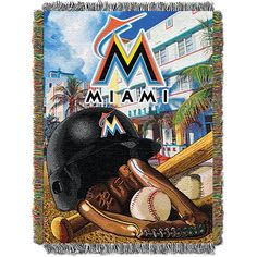 Miami Marlins Home Field Advantage Tapestry - MLB.com Shop
