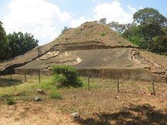 Sitio arqueológico Casa Blanca ubicado en Chalchuapa, Santa Ana.