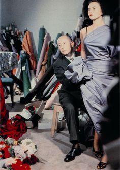 Christian Dior dressing model Sylvie, circa 1950. Discover more on www.dior.com