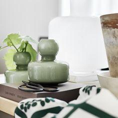 Marimekko Flower vaasi, oliivi