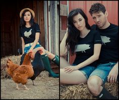 Farm Sanctuary's Ambassador Collection by John Bartlett #ecofashion