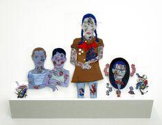 nz artist : Sam Mitchell  Melanie Roger Gallery.