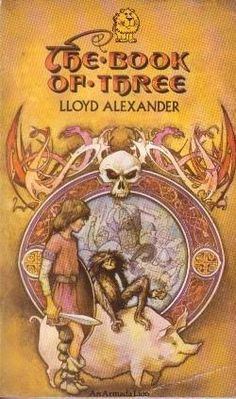 """The Book of Three"" av Lloyd Alexander Lloyd Alexander, The Book, Reading, Books, Libros, Book, Reading Books, Book Illustrations, Libri"